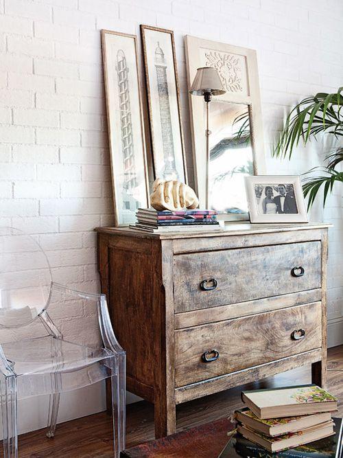 mueble de madera reciclado