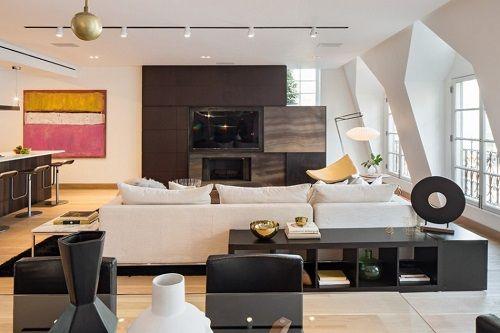 Apartamento con decoración elegante chic