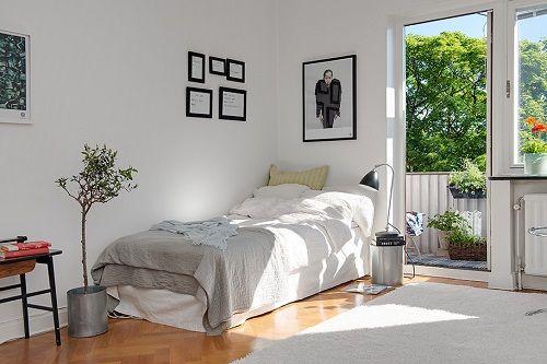 Apartamento pequeño de concepto abierto