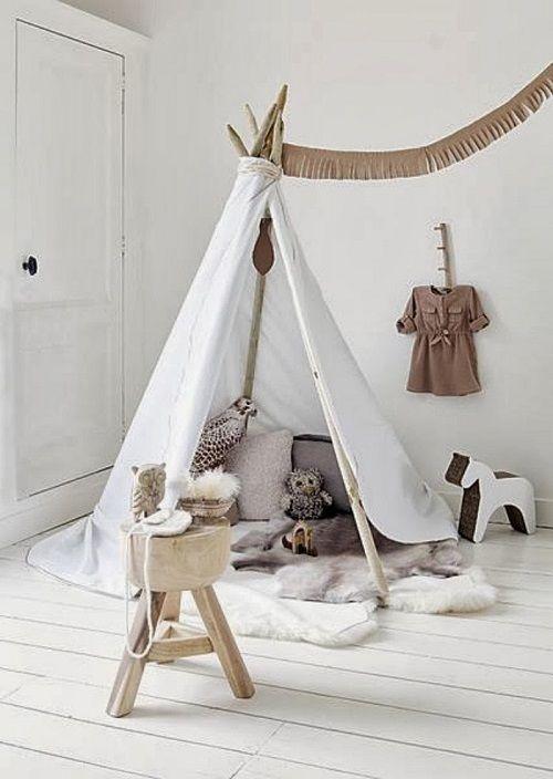 Cabaña nórdica para niños