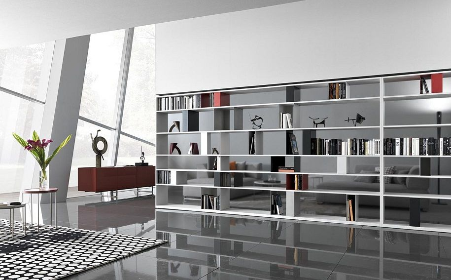 Decoración con libros para dormitorios