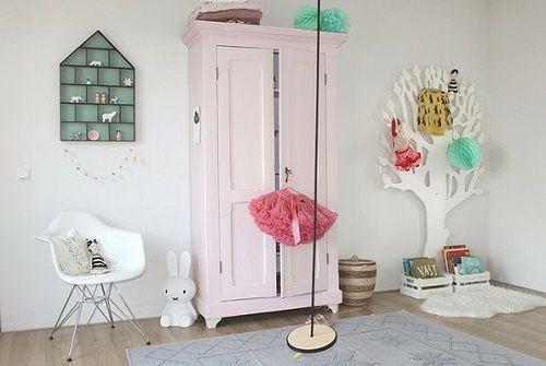 Detalles de un dormitorio infantil