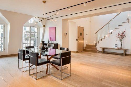 Espacio salón moderno