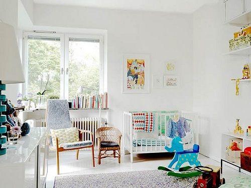 Habitación nórdica para niños