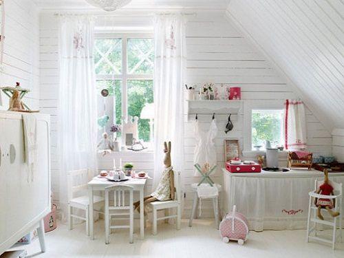 Habitación nórdica para peques