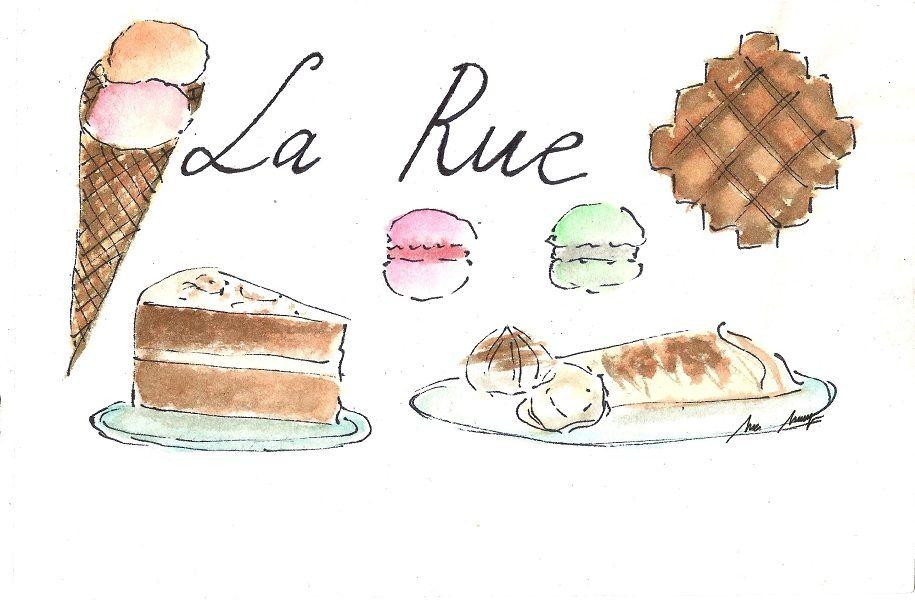 Crepería La Rue, un trocito de París en Madrid