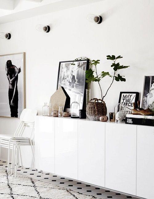 Salón nórdica diseñado por la sueca Agaton