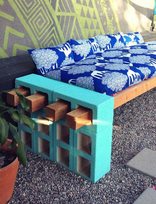 Sofa bloques
