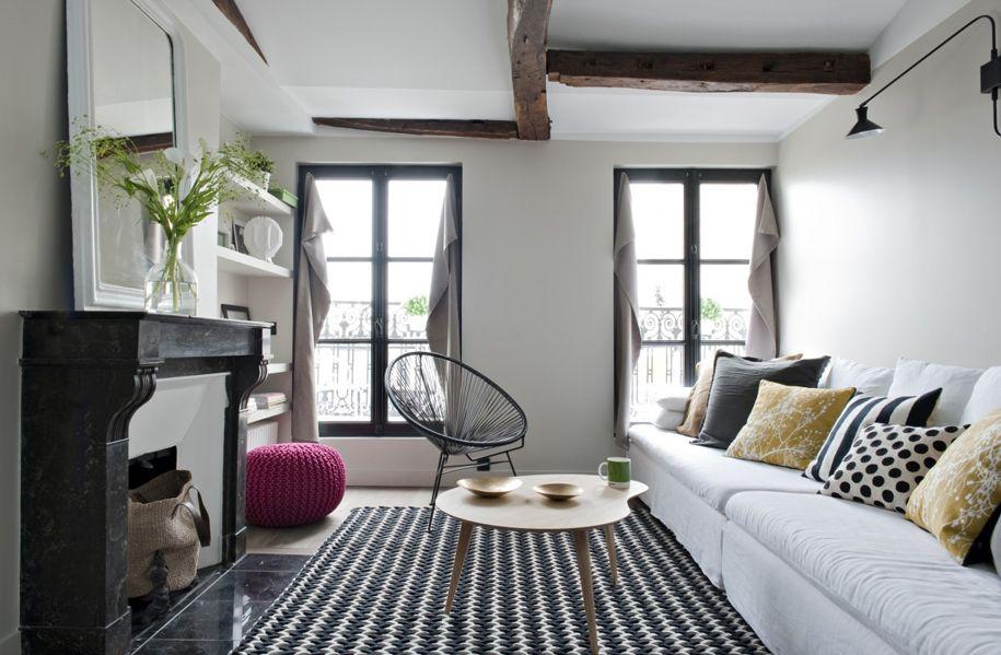 Estilo parisino, elegancia sobria para el hogar