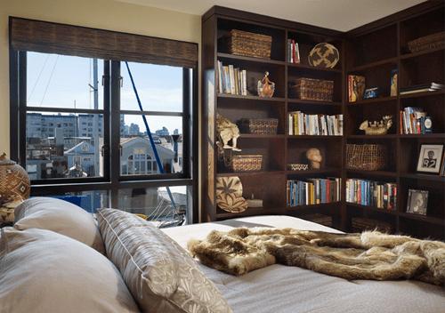 habitacion de madera