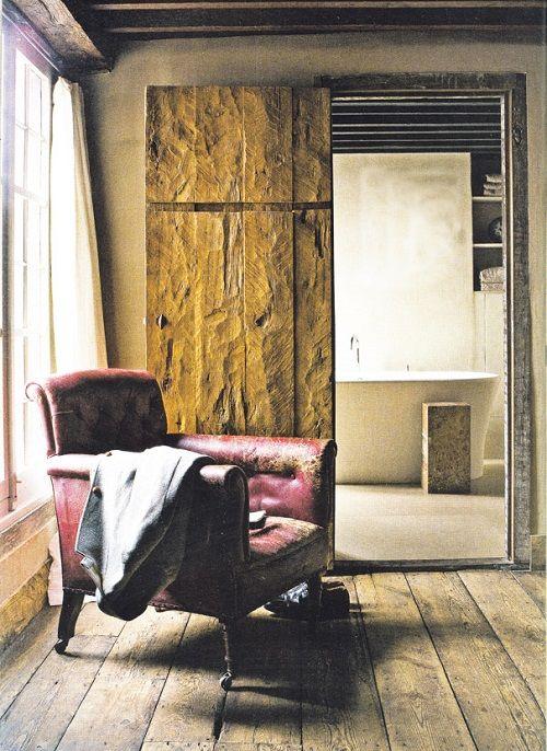 sofa desgastado