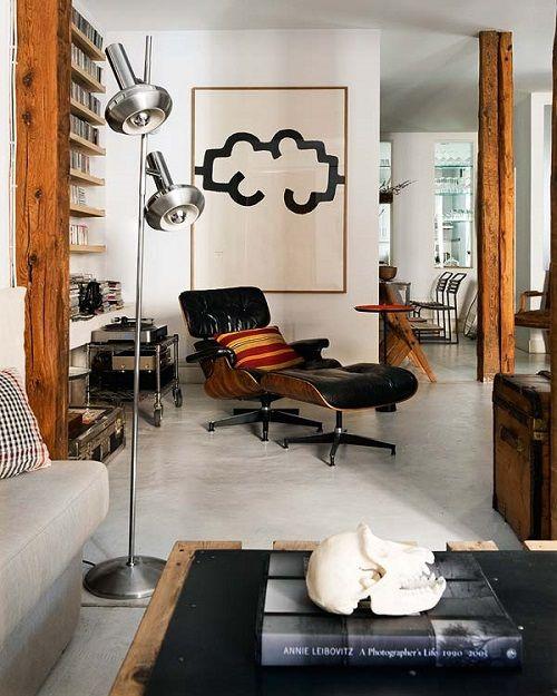Apartamento decorado en clave elegante chic