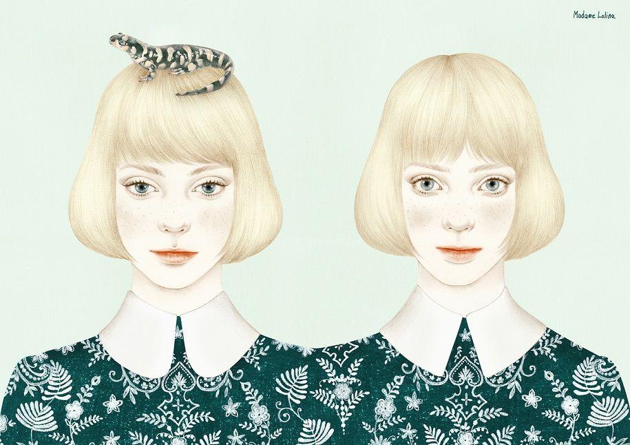 Madame Lolina, delicadeza en forma de ilustraciones