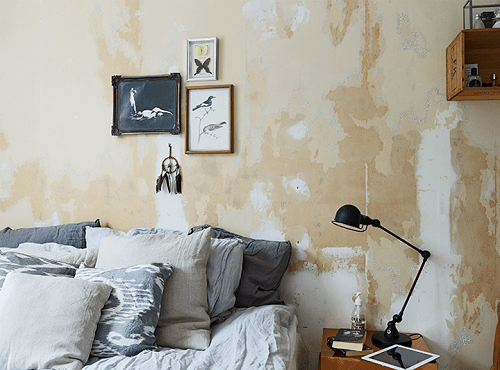 Dormitorio bohemio