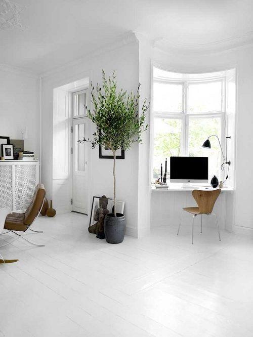 Salón-estudio de estética escandinava