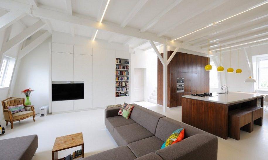 Selección de apartamentos minimalistas en Ámsterdam