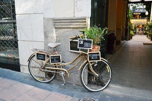 bcicleta exterior