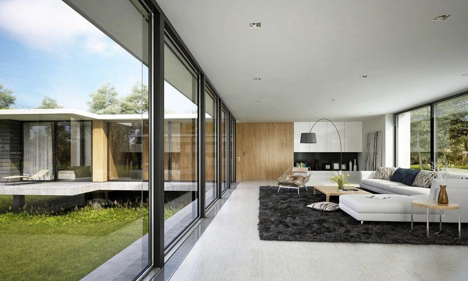 Una selección de salones minimalistas ligados por la sencillez