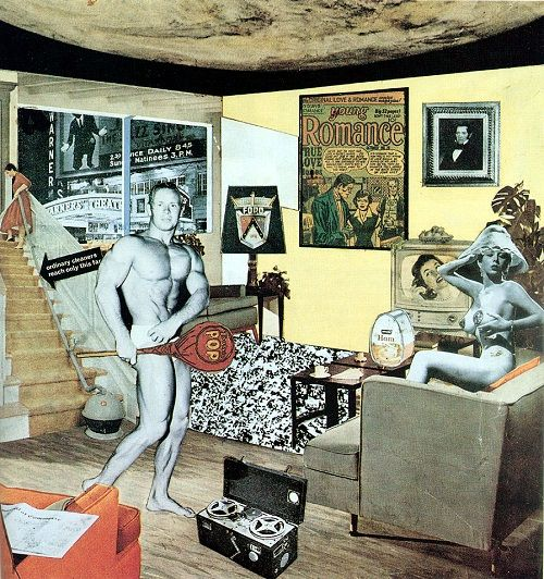 richard hamilton- Just What Is It That Makes Today's Homes So Different, So Appealing-