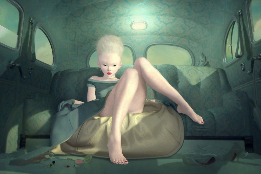 Ray Caesar, genio del arte digital