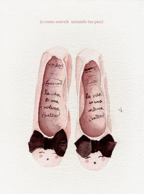 bailarinas Luciabe para wonders por Verónica Algaba illustration 01