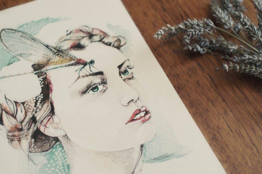 Las románticas ilustraciones de Verónica Algaba