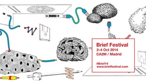 Cartel oficial de Brief Festival Madrid 2014