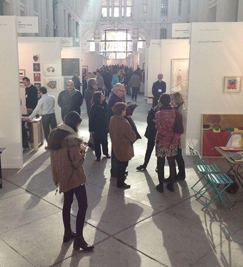 Casa Arte con visitantes