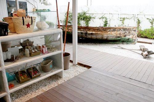 Diseño interior cubierto de Sal de Ibiza