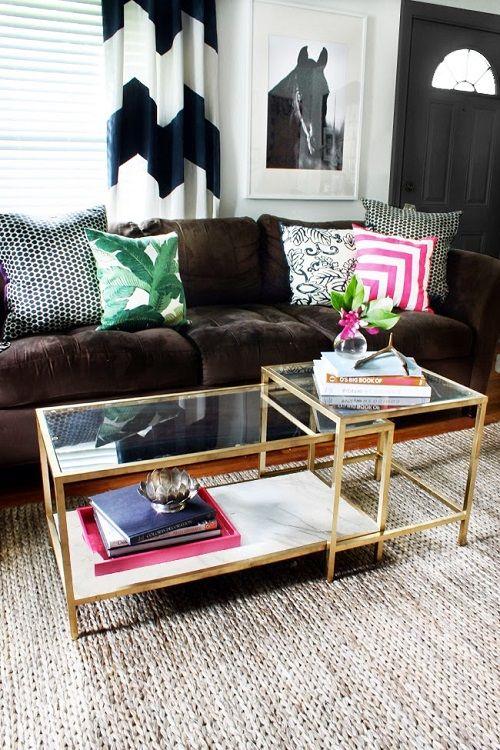 Mesa de Ikea para el salón