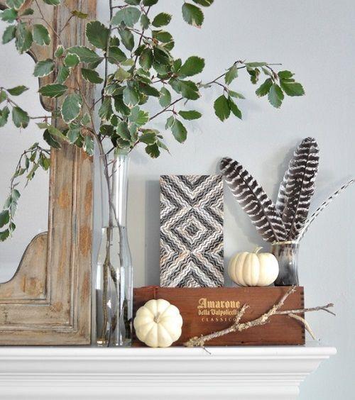 Motivos otoñales para decorar