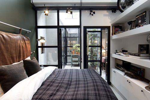 Precioso dormitorio principal vintage