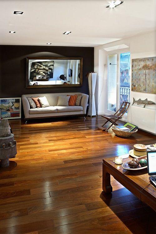 Salón clásico diseñado por Cuarto Interior
