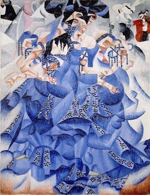 bailarina azul severini