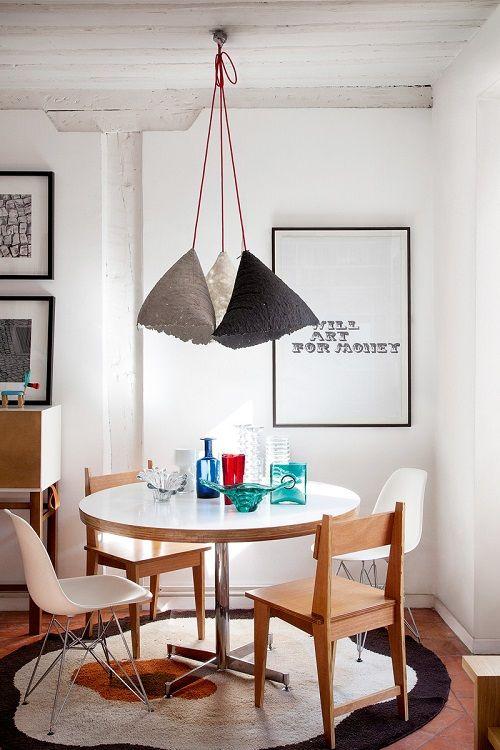 brut interior - mesa comedor. revistaad.es
