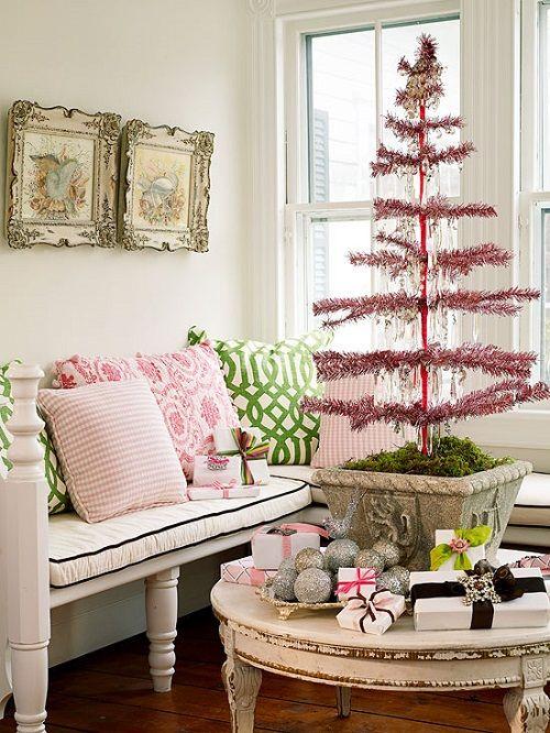 Estilo vintage y diy para decorar tu casa estas navidades for Decoracion navidena minimalista
