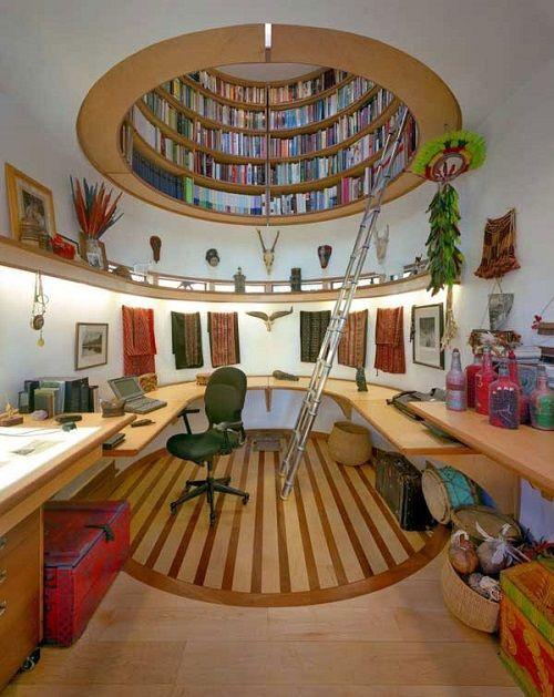 Biblioteca en cúpula