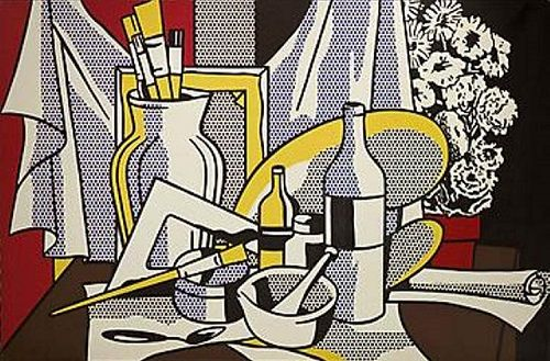 Roy-Lichtenstein-Still-Life-with-Palette