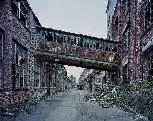 Yves Marchand, Romain Meffre The Ruins of Detroit 2