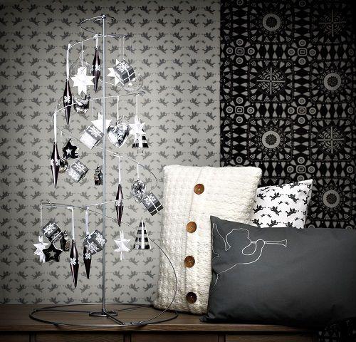 arbol de navidad plata