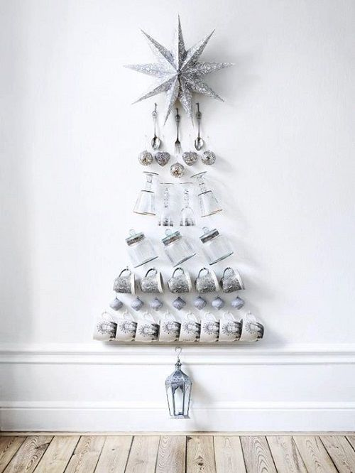 arbol navidad con botes de cristal-planosdecasas1