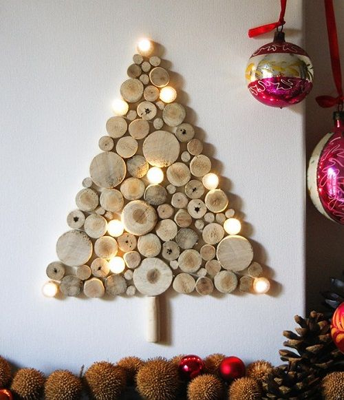arbol navidad con madera-planosdecasas