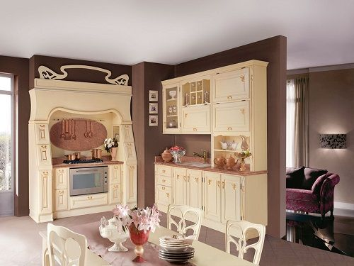 cocina de diseño_ estilo french country de Only Wood