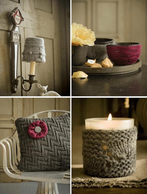 decoracion con lana para ambientes acogedores
