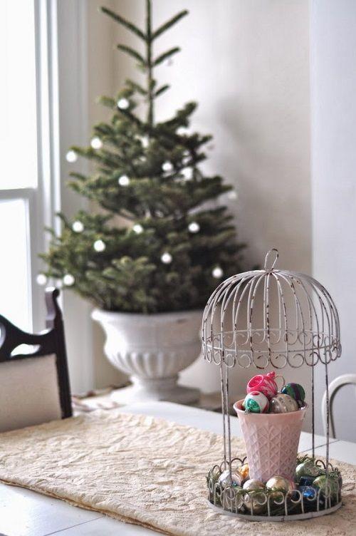 Estilo vintage y diy para decorar tu casa estas navidades - Decoracion navidena diy ...