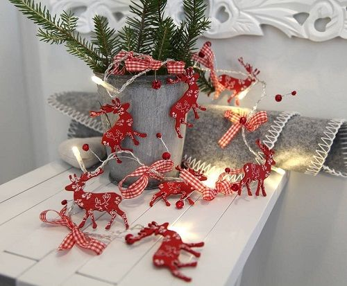 luces de navidad vintage