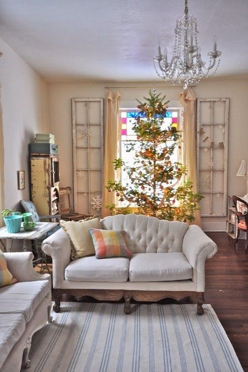 Estilo vintage y diy para decorar tu casa estas navidades for Decoracion vintage casas