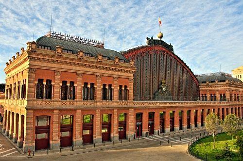 arquitectura de hierro Estación_de_Atocha