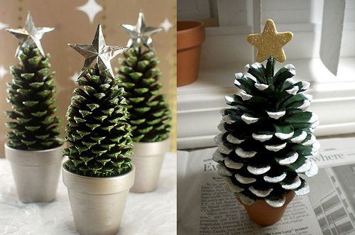 arboles-de-navidad-miniatura-piña