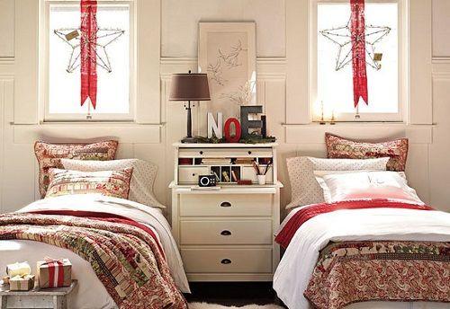 dormitorios navideños  12
